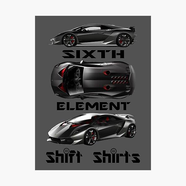 Shift Shirts Sixth Element – Sesto Elemento Inspired Photographic Print