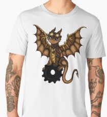 Steampunk Dragon Men's Premium T-Shirt