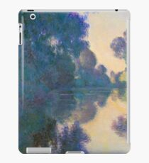 "Claude Monet ""Morning on the Seine near Giverny"" iPad Case/Skin"