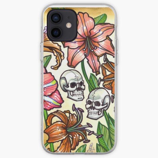 lilies and remains iPhone Soft Case