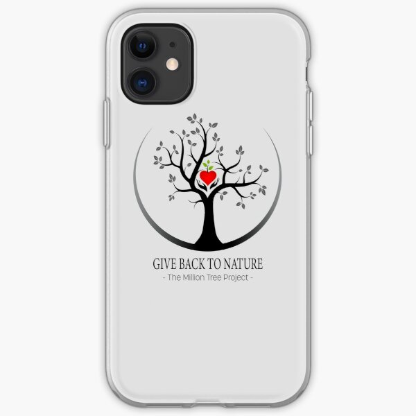 Give Back to Nature Logo - For Light Backgrounds iPhone Soft Case