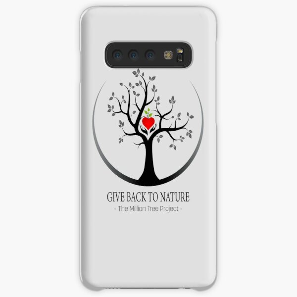 Give Back to Nature Logo - For Light Backgrounds Samsung Galaxy Snap Case