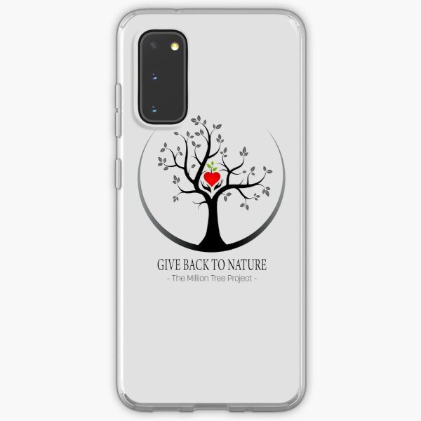 Give Back to Nature Logo - For Light Backgrounds Samsung Galaxy Soft Case