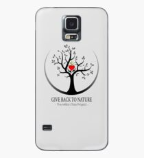 Give Back to Nature Logo - For Light Backgrounds Case/Skin for Samsung Galaxy