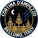 Cortina d'Ampezzo Skiing Italy Dolomite Mountains Dolomiti Belluno by MyHandmadeSigns