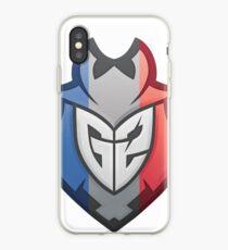 G2 Esports French Flag iPhone Case