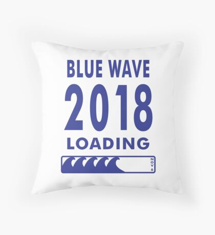 Blue Wave 2018 Loading Floor Pillow