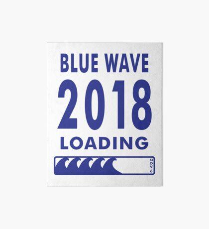 Blue Wave 2018 Loading Art Board
