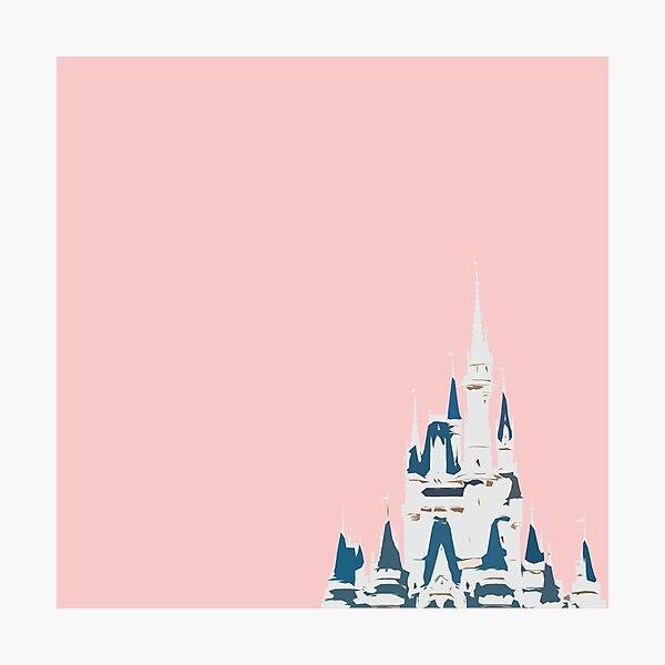 Magic Castle Millennial Pink Photographic Print