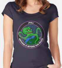 /pol/ - NOTHING IS BEYOND OUR REACH Fitted Scoop T-Shirt