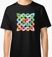 Celtic Knots with Gradients Revisited Classic T-Shirt