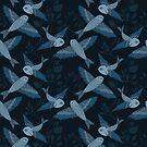 Blue Birds by Cecilia Mok