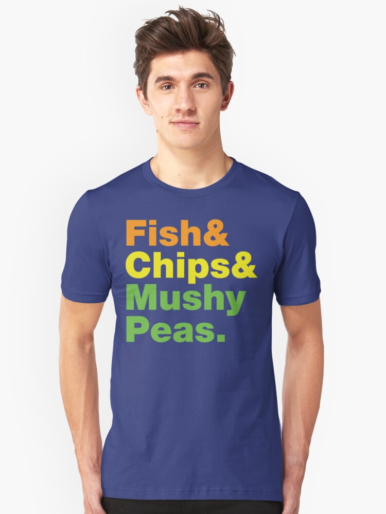 Fish & Chips & Mushy Peas. by tinybiscuits