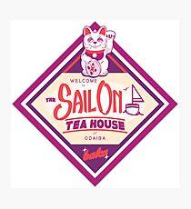 Sail On Logo Photographic Print