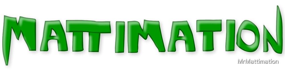 Mattimation Logo Tee by MrMattimation