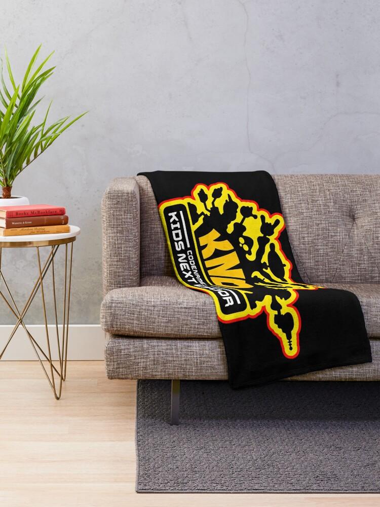 Alternate view of Codename: Kids Next Door Throw Blanket