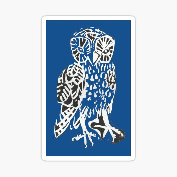 Owl Gaudi Sticker