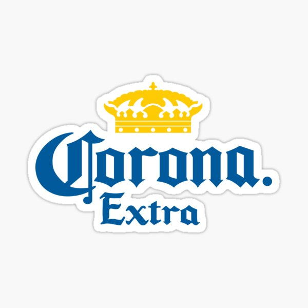 Corona drink Sticker