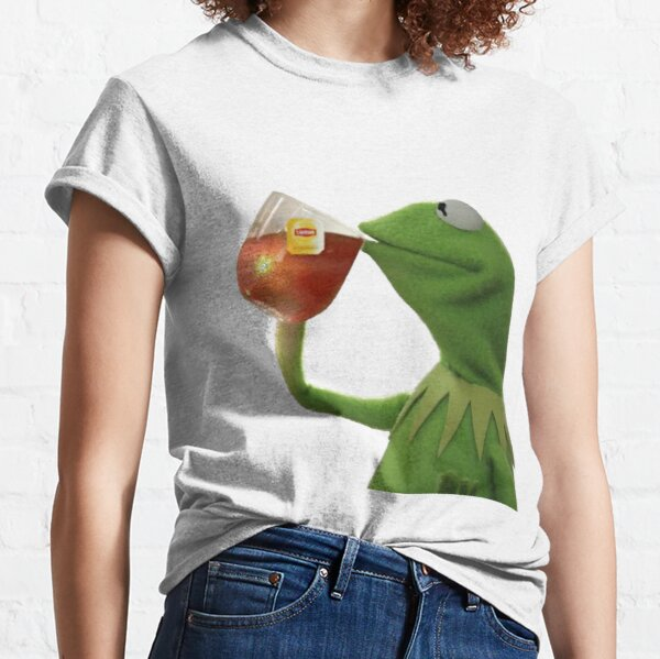 Tee Kermit Meme Classic T-Shirt