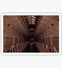 Old Melbourne Gaol - Sepia Sticker