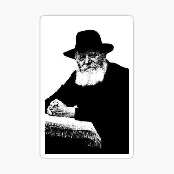It's A Segulah - Rabbi Menachem Schneerson - Lubavitcher Rebbe Sticker