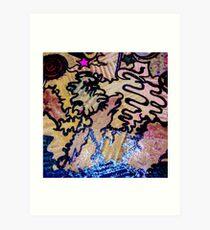 graffiti landscape Art Print