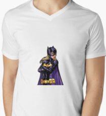 Cross Arm Steph Men's V-Neck T-Shirt