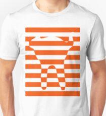Orange striped cat Unisex T-Shirt
