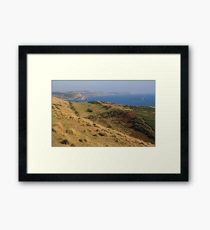 Lower Bindon Framed Print