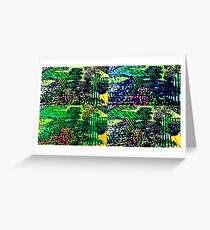 Line country Greeting Card