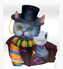 Happy Meow Sir Poster