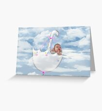 Shower Of Blessings Greeting Card