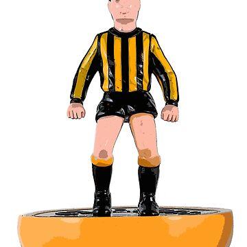 Hull, Berwick, East Fife and Berwick subbuteo football design by vancey73