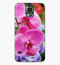 Pink Orchid Case/Skin for Samsung Galaxy