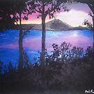 Sunrise on Kentucky Lake by TamiParrington