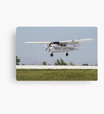 Cessna 172 Landing Canvas Print