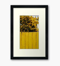 Yellow Chile Framed Print