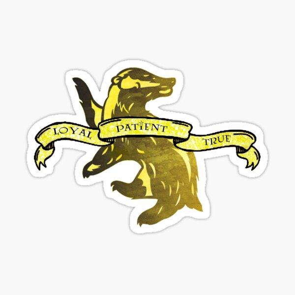 Badger School House Sticker
