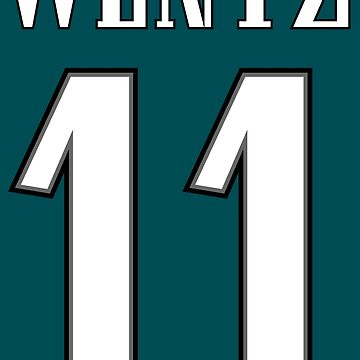 Wentz 11 Eagles by Hashtangz