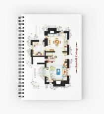 Rosehill Cottage from THE HOLIDAY - Ground floor Spiral Notebook