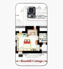 Rosehill Cottage from THE HOLIDAY - Upper floor A Case/Skin for Samsung Galaxy