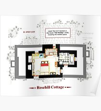 Rosehill Cottage from THE HOLIDAY - Upper floor A Poster