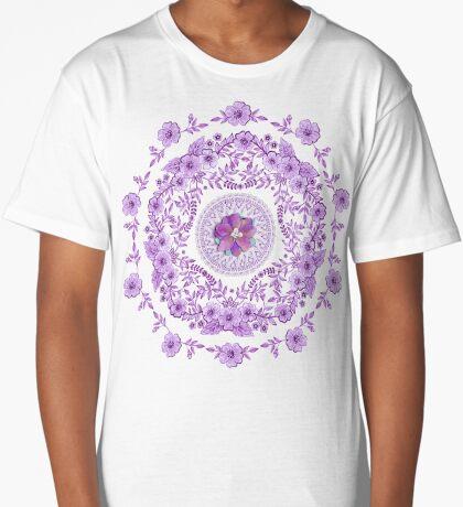 Ultra Violet Pretty Long T-Shirt