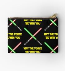 May the force be with you-star wars fanart Studio Pouch