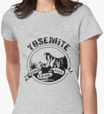 Yosemite National Park Tailliertes T-Shirt