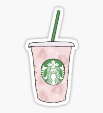 Starbucks Pink Drink Sticker 340 Coffee