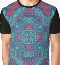 Psychedelic Tile Graphic T-Shirt