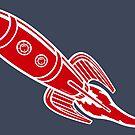 Retro Roadster Rocket  by CraigWoida