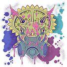 Tricera-paint by Alan Funk
