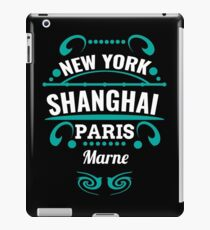 Marne - Our city is not world mopeds, but it should. iPad Case/Skin